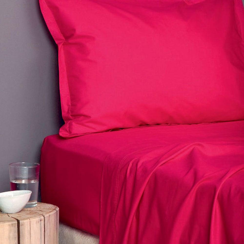 Παπλωματοθήκη Colour Rainbow Red Palamaiki Ημίδιπλο 170x250cm