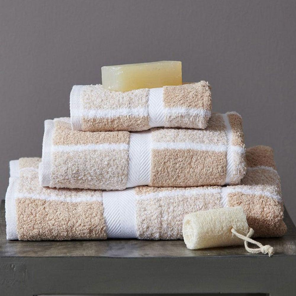 Πετσέτα 222 Beige Palamaiki Προσώπου 50x100cm
