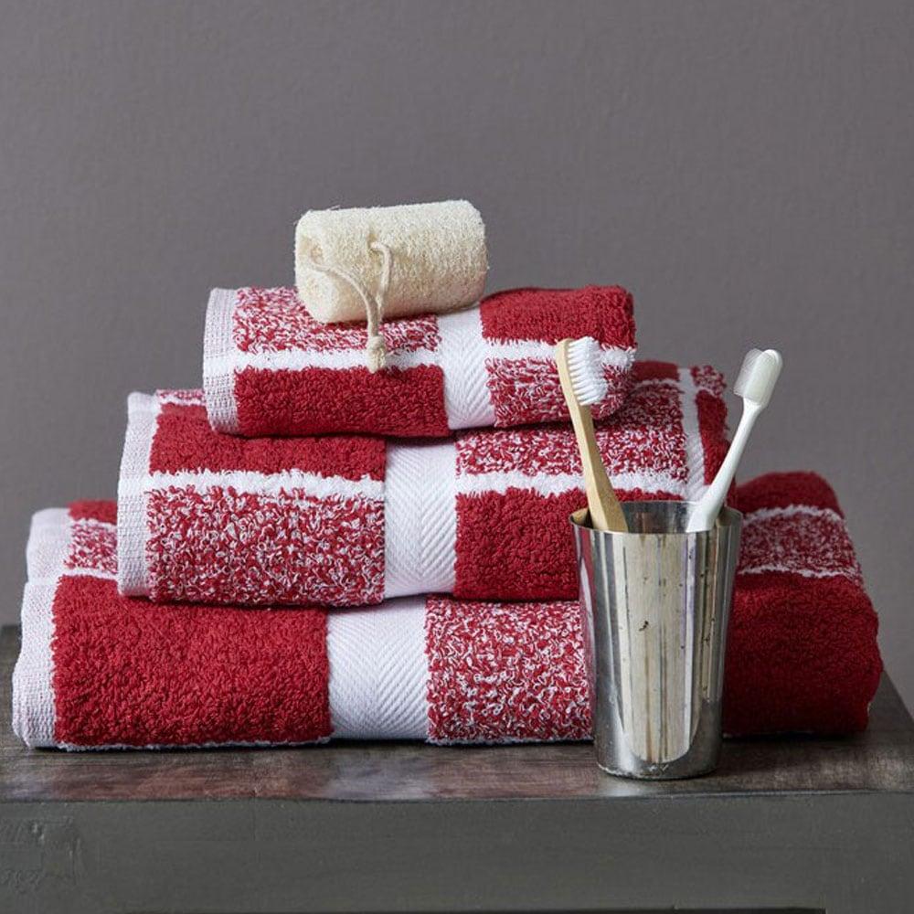 Πετσέτα 222 Bordo Palamaiki Σώματος 100x150cm