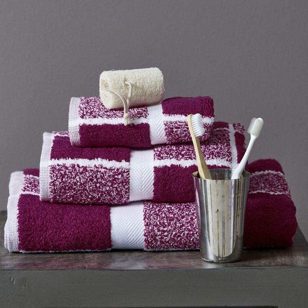 Πετσέτα 222 Violet Palamaiki Προσώπου 50x100cm