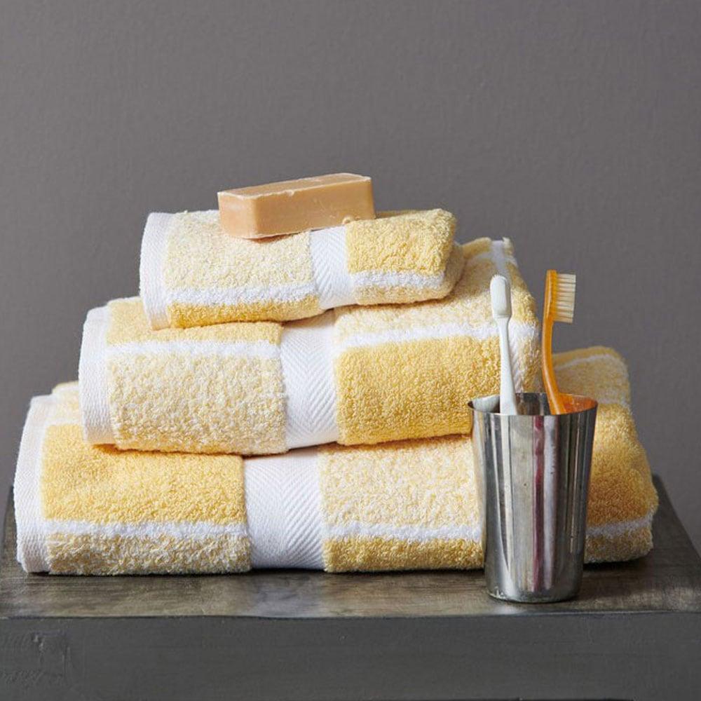 Πετσέτα 222 Yellow Palamaiki Προσώπου 50x100cm