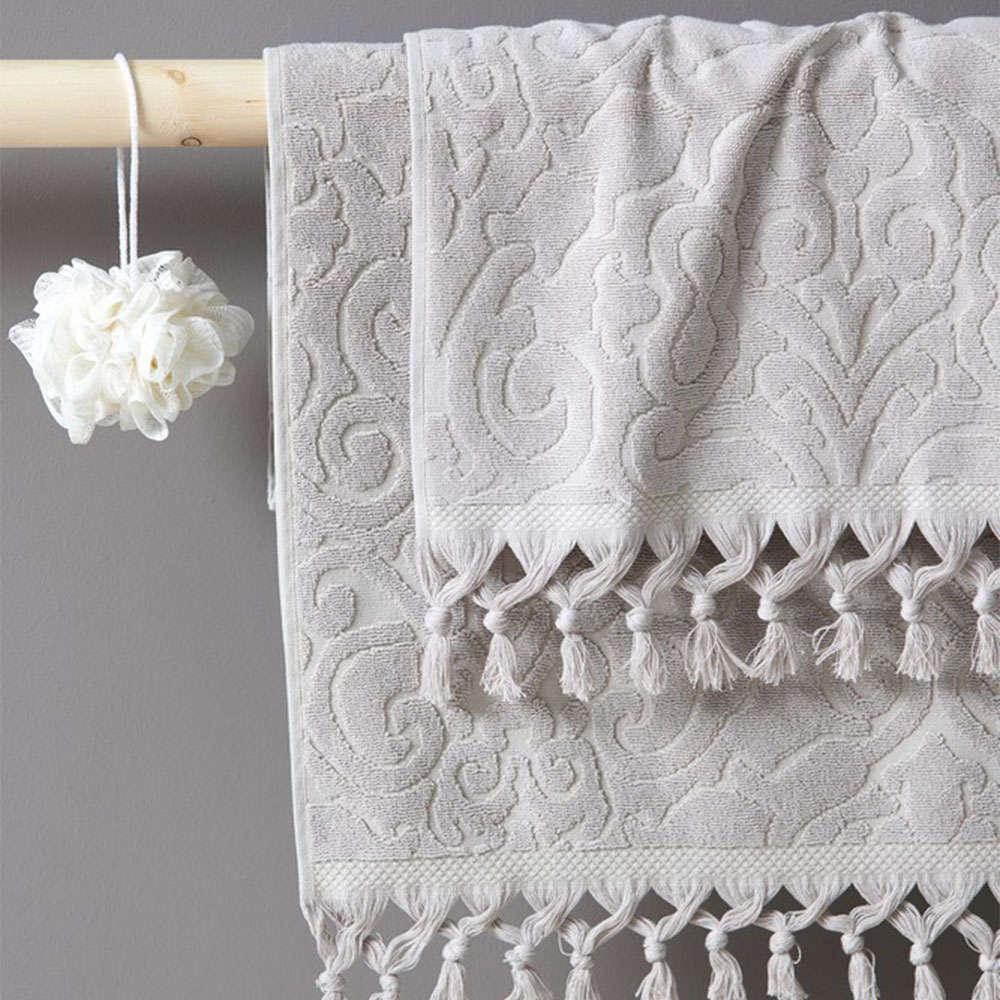 Πετσέτα Anita Silver Palamaiki Προσώπου 50x90cm