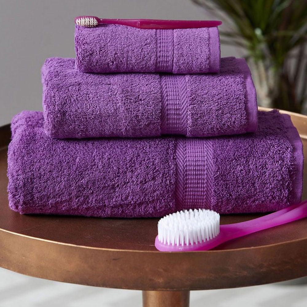 Πετσέτα Jolie Violet Palamaiki Χεριών 30x50cm