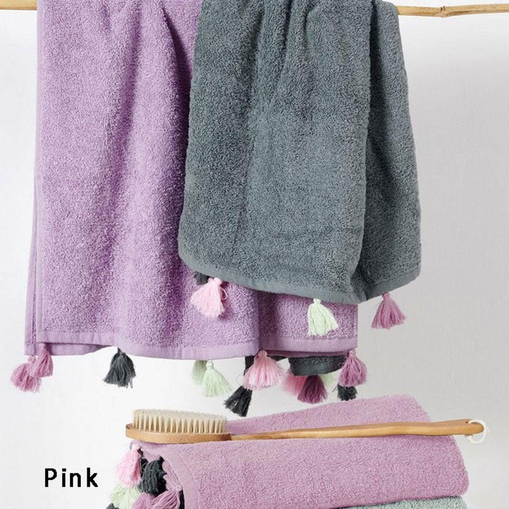 Πετσέτα Margot Pink Palamaiki Σώματος 70x140cm