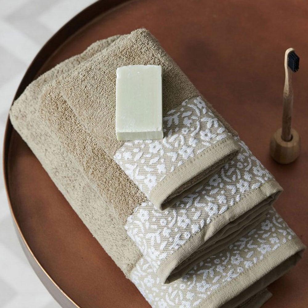 Πετσέτα Primavera Beige Palamaiki Χεριών 30x50cm