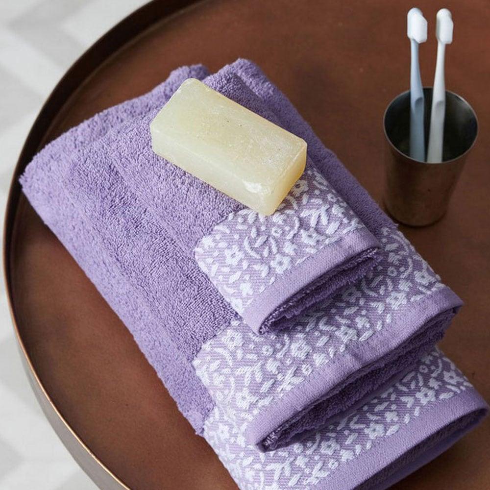 Πετσέτα Primavera Lilac Palamaiki Σώματος 70x140cm