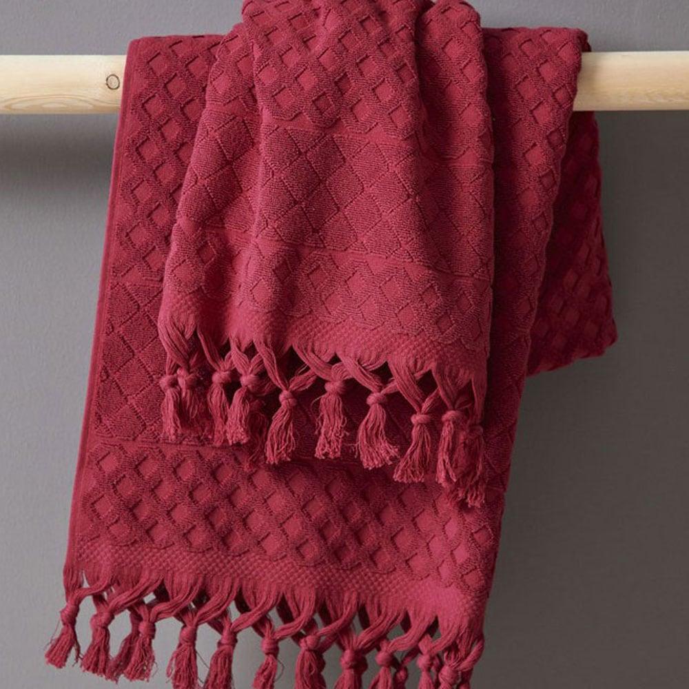 Πετσέτα Robbie Wine Palamaiki Σώματος 70x140cm