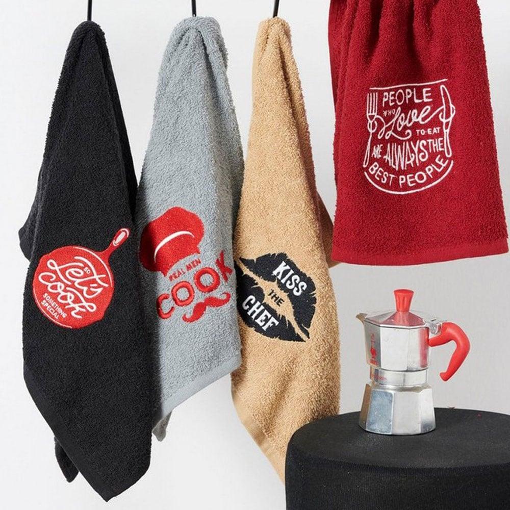 Πετσέτες Κουζίνας Σετ 4τμχ KT100 Palamaiki 40x60cm
