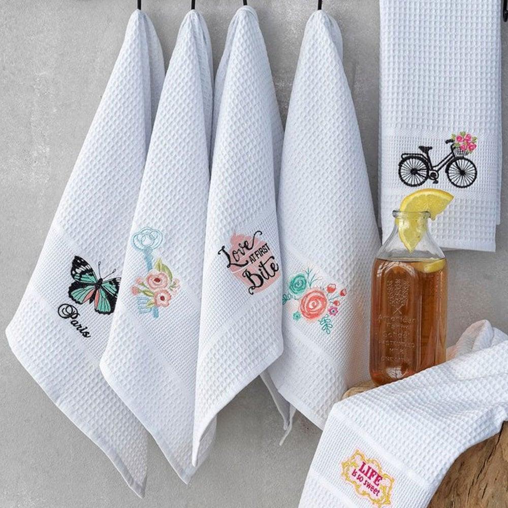 Πετσέτες Κουζίνας Σετ 6τμχ KW010 Palamaiki 50x70cm
