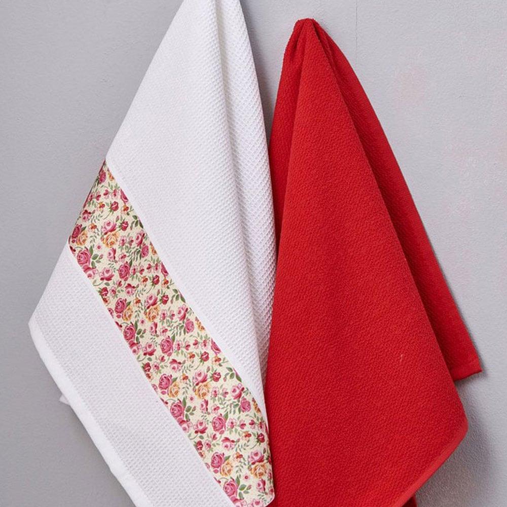 Πετσέτες Κουζίνας Σετ 2τμχ Magento Palamaiki 50x70cm