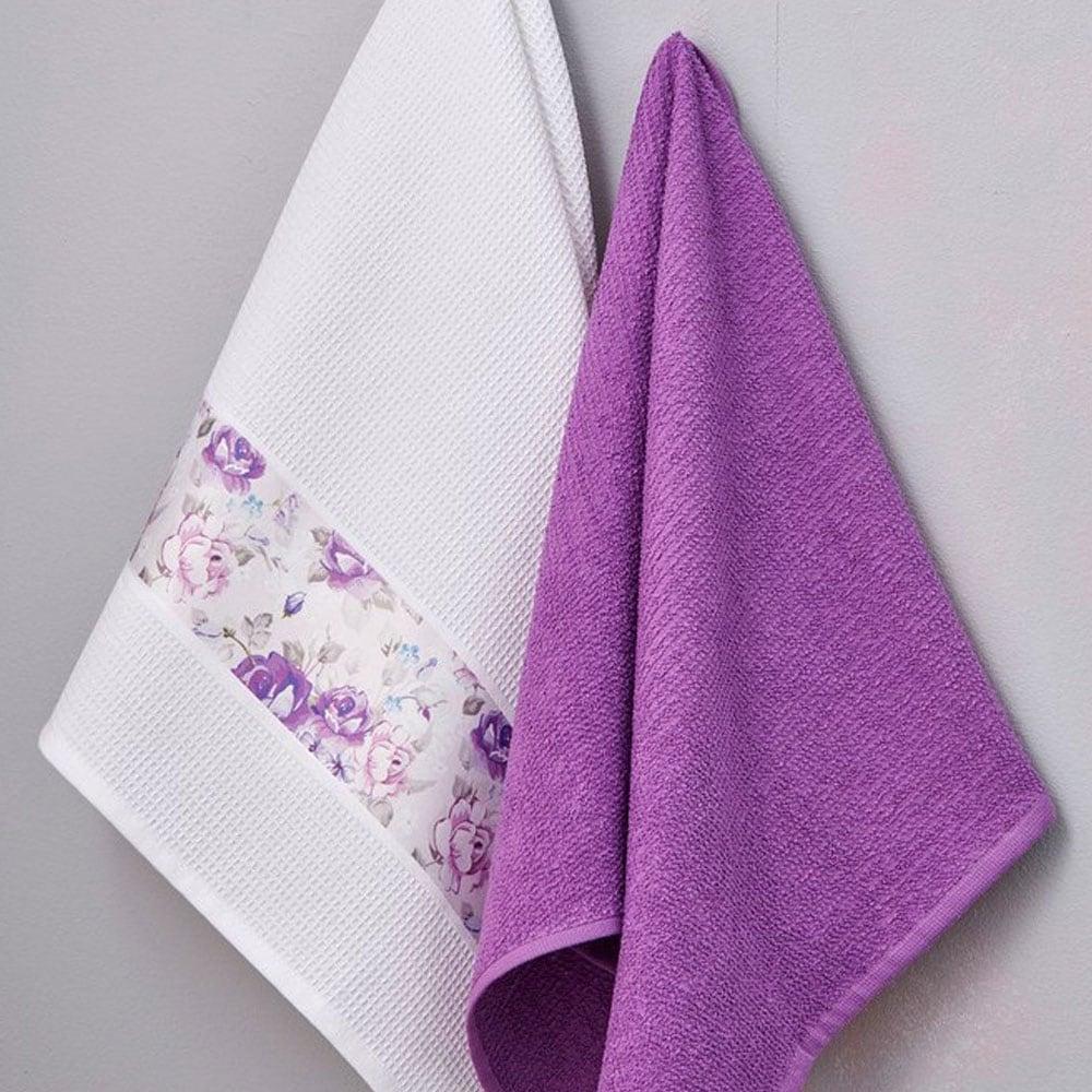 Πετσέτες Κουζίνας Σετ 2τμχ Viola Palamaiki 50x70cm
