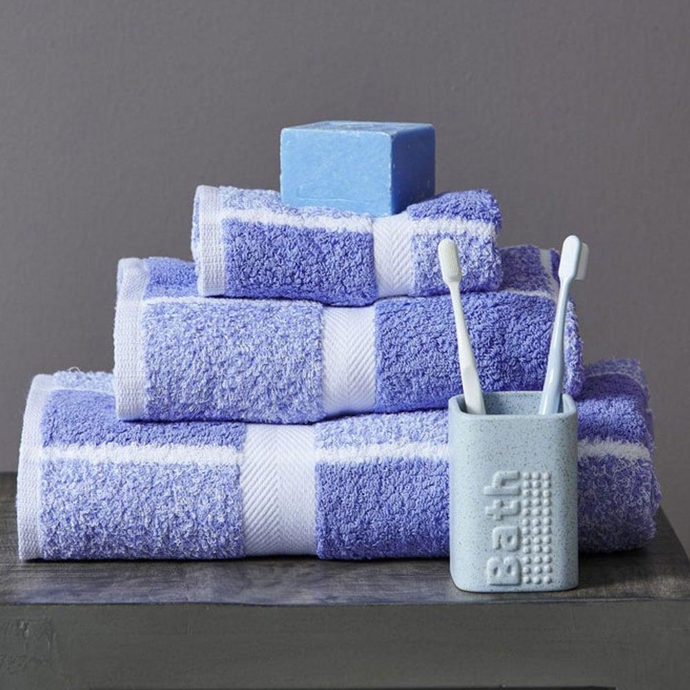 Πετσέτες Σετ 222 3τμχ Lavender Palamaiki Σετ Πετσέτες