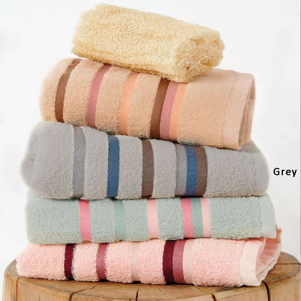 Πετσέτες Σετ Band 3τμχ Grey Palamaiki Σετ Πετσέτες