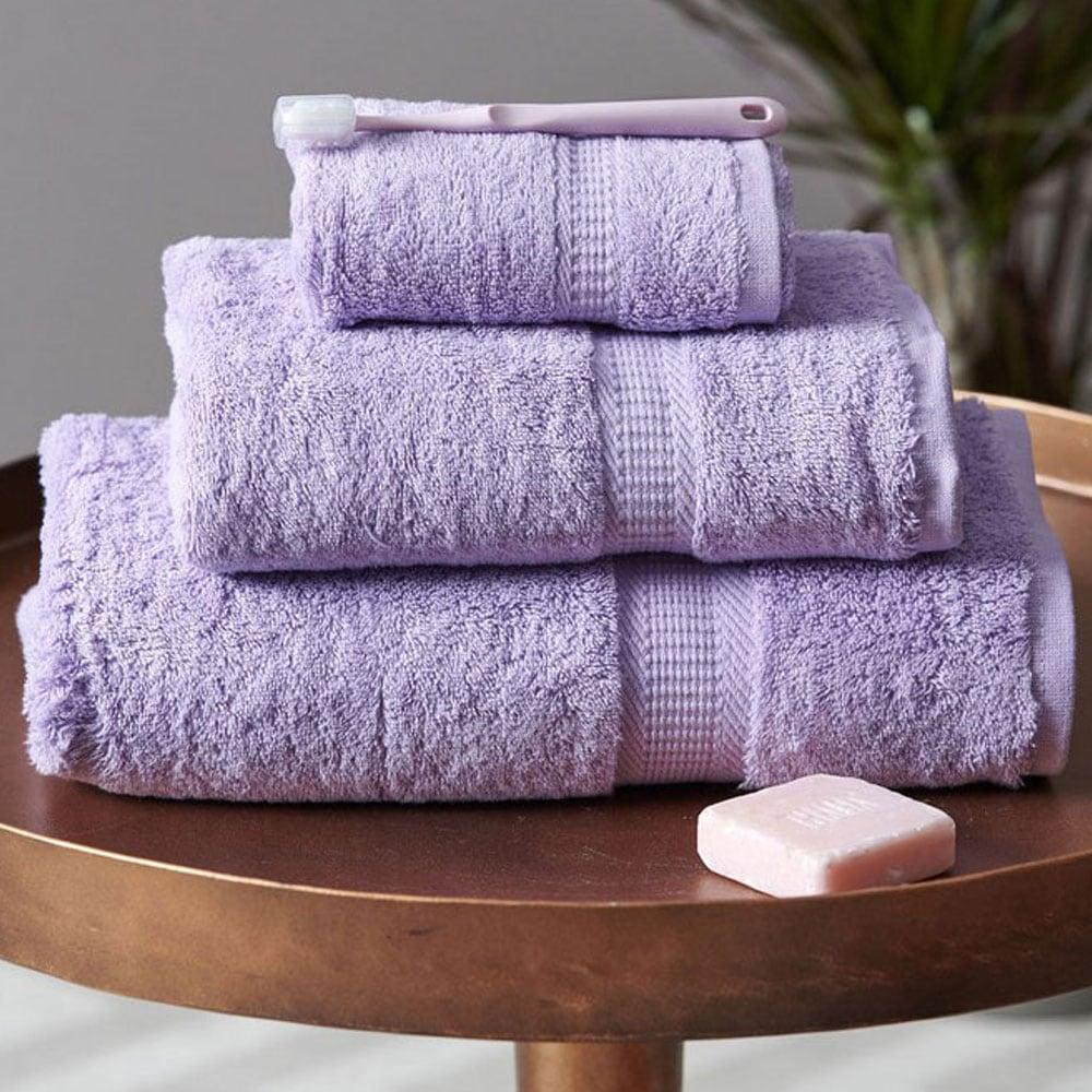 Πετσέτες Σετ Jolie 3τμχ Lavender Palamaiki Σετ Πετσέτες
