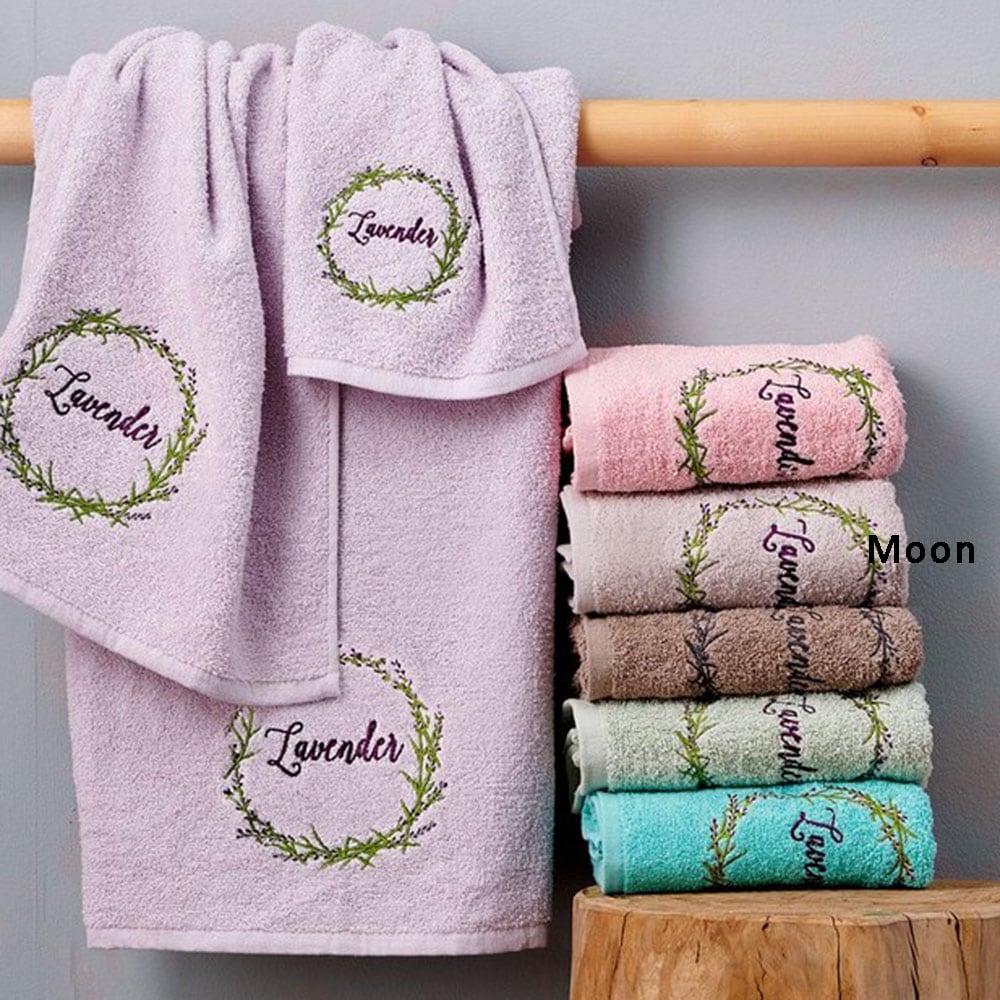Πετσέτες Σετ Laura 3τμχ Moon Palamaiki Σετ Πετσέτες