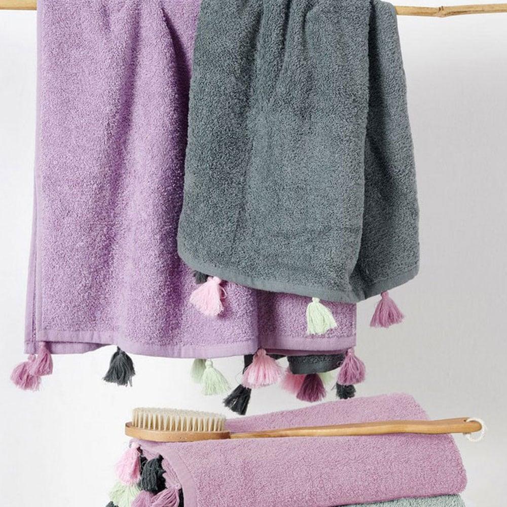 Πετσέτες Σετ Margot 2τμχ Lavender Palamaiki Σετ Πετσέτες