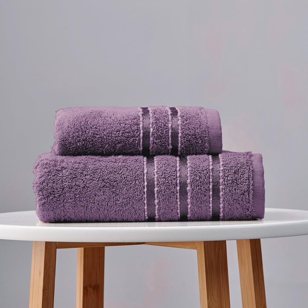Πετσέτες Σετ 3τμχ. Ribbon Lavender Palamaiki Σετ Πετσέτες