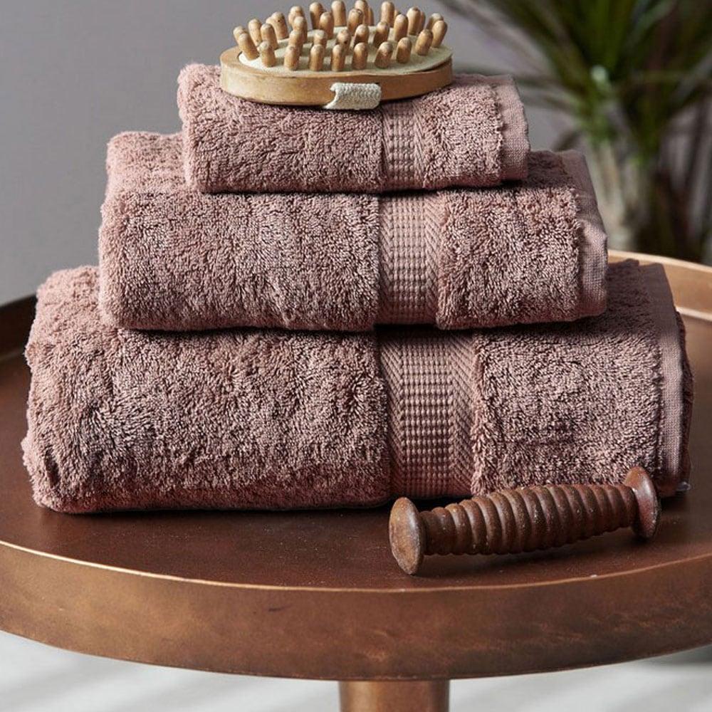 Πετσέτα Jolie Light Brown Palamaiki Σώματος 100x150cm