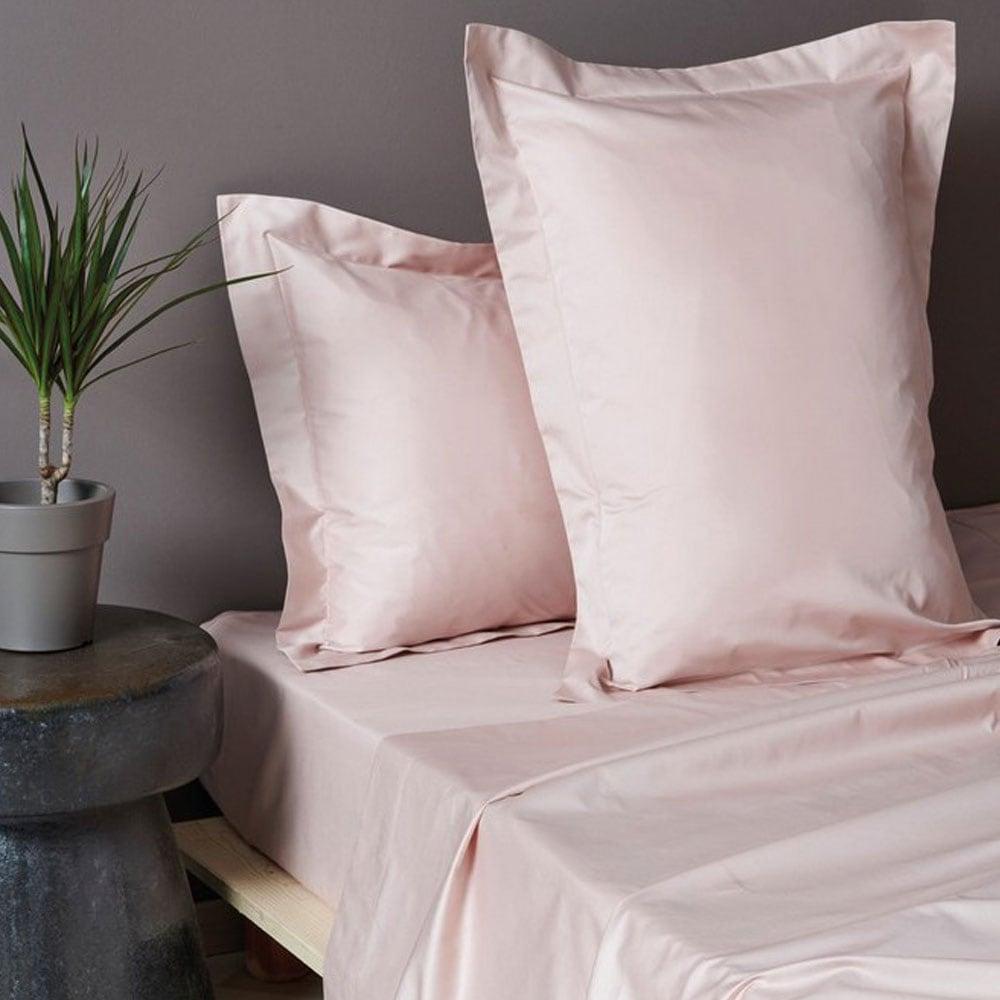 Σεντόνι Luxe Sateen Light Pink Palamaiki Υπέρδιπλo 245χ270cm