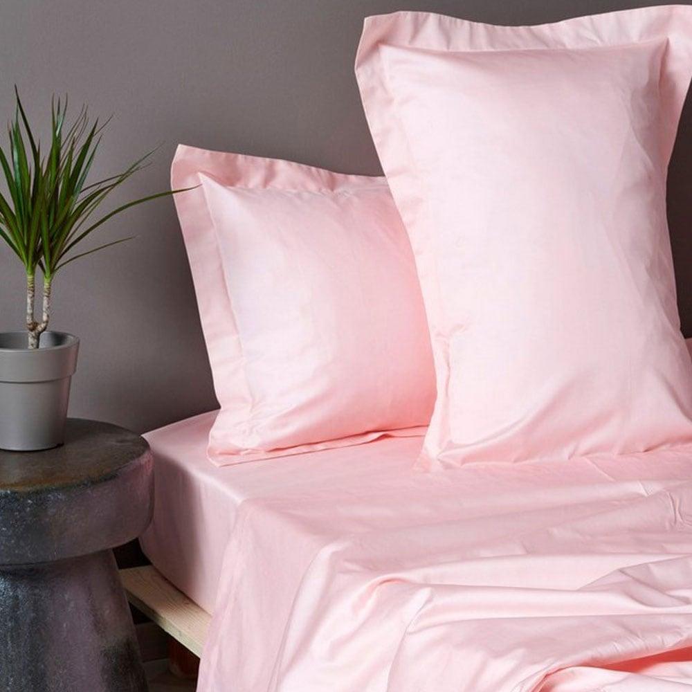 Σεντόνια Σετ Luxe Sateen Pink Palamaiki Υπέρδιπλo 245χ270cm