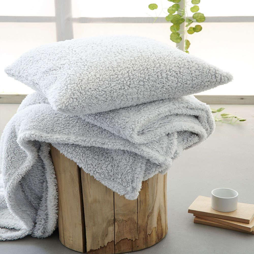 Κουβέρτα Καναπέ Sepia Grey Palamaiki 150X180