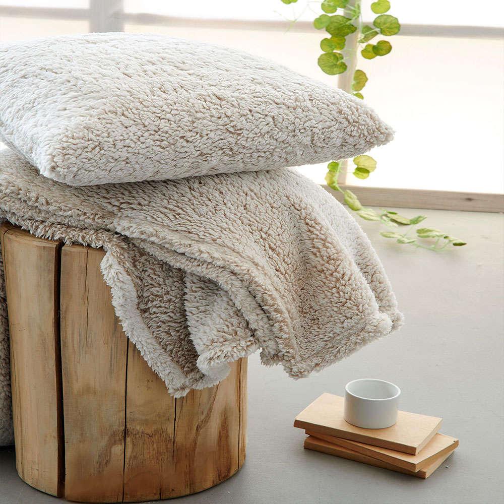 Κουβέρτα Καναπέ Sepia Moka Palamaiki 150X180