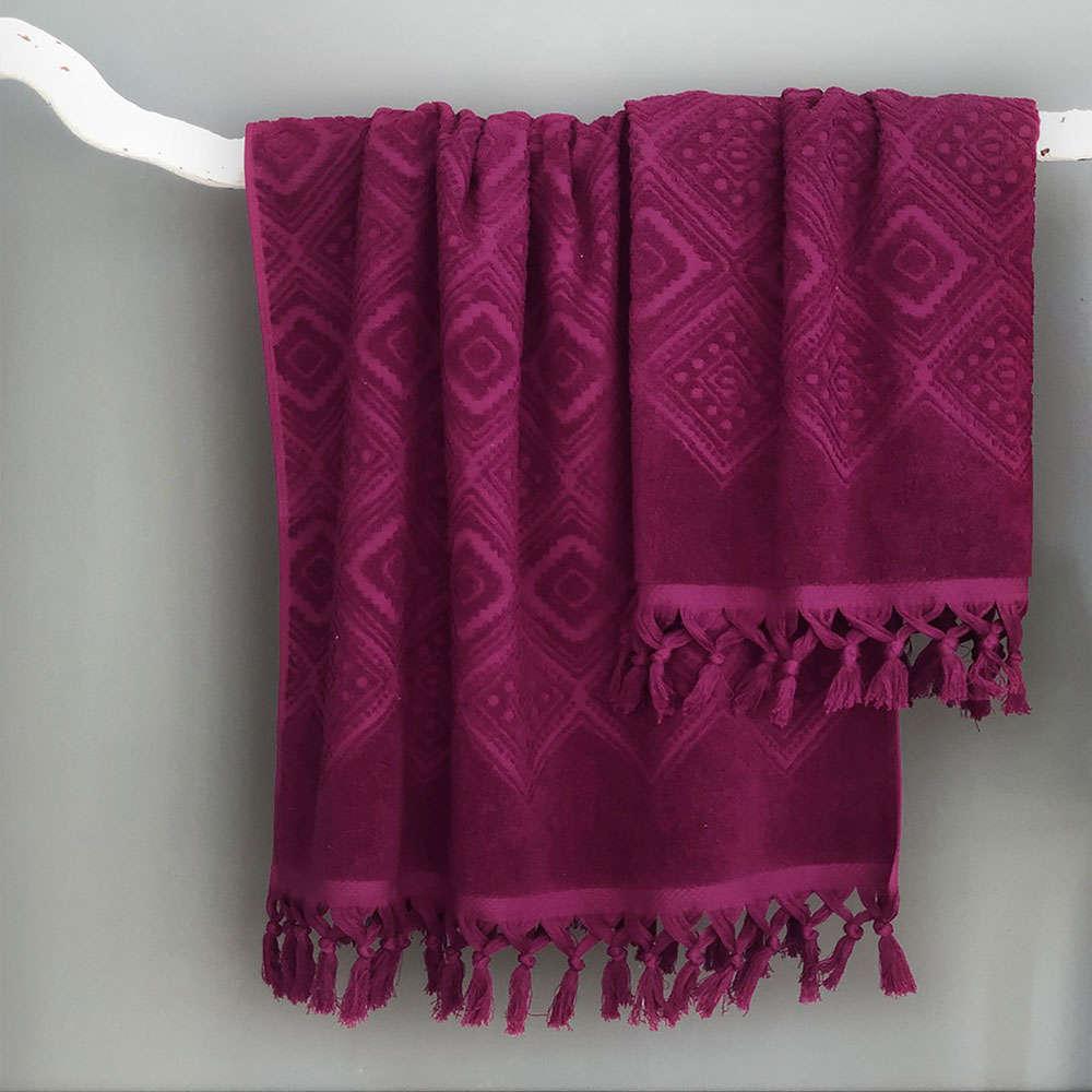 Πετσέτα Boris Ruby Palamaiki Σώματος 70x140cm