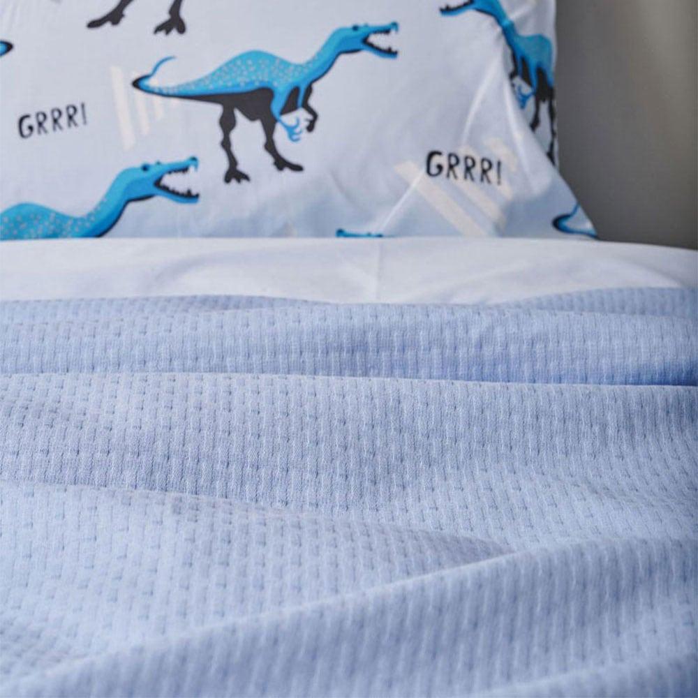 Κουβέρτα Abbey Ciel Palamaiki Ημίδιπλο 170x250cm