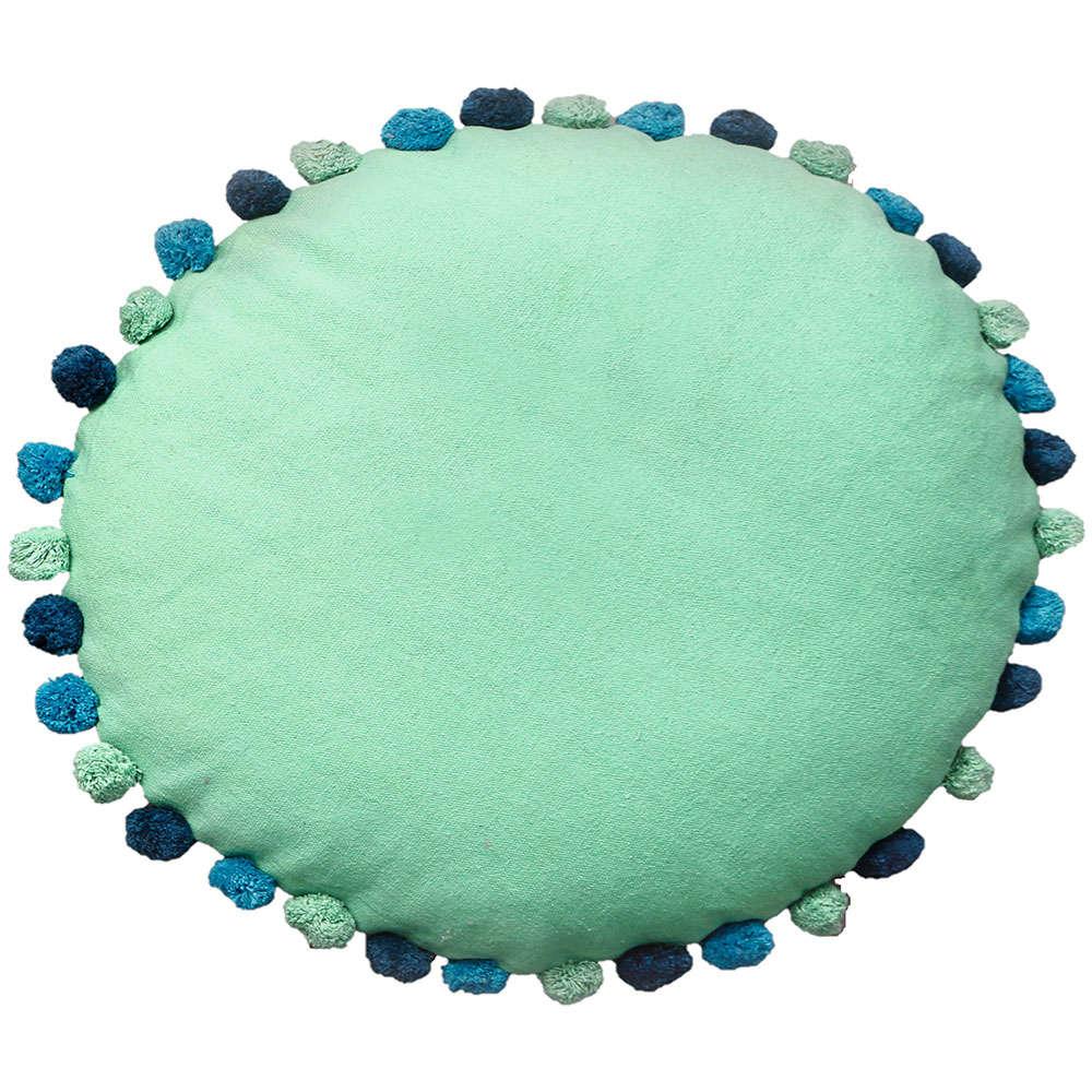 Μαξιλάρι Διακοσμητικό Παιδικό Δαπέδου (Με Γέμιση) Sprinkle Mint Palamaiki 60X60