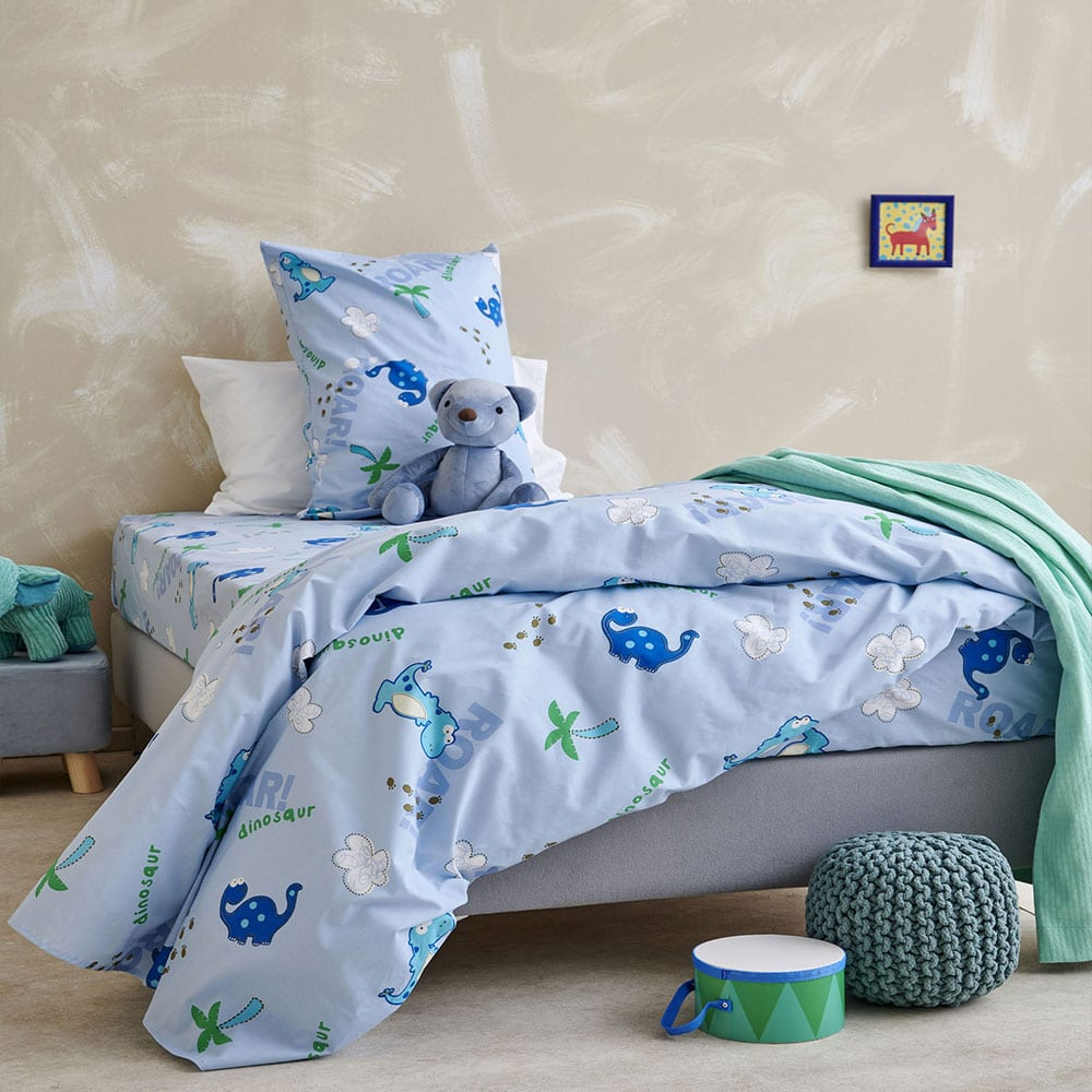 Μαξιλαροθήκες Παιδικές MK722 Σετ 2τμχ Blue Palamaiki 50X75