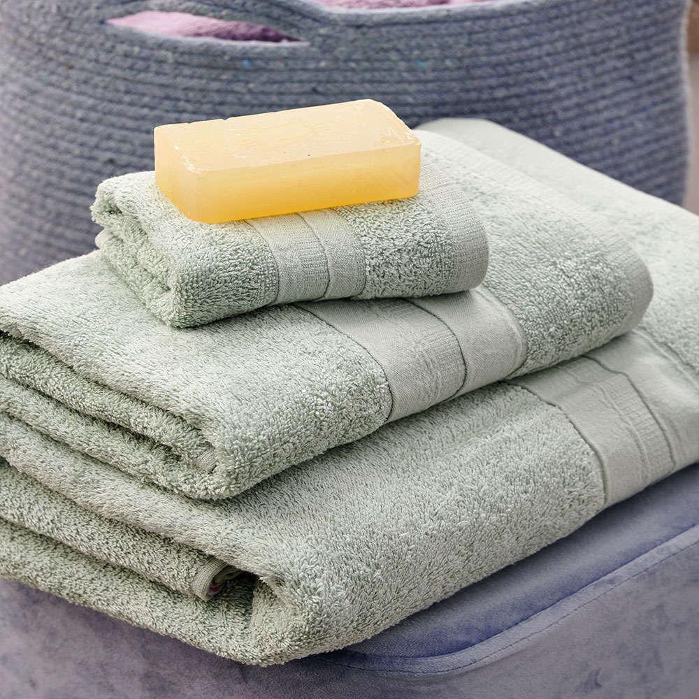 Πετσέτες Cactus Σετ 3τμχ Mint Palamaiki Σετ Πετσέτες 70x140cm