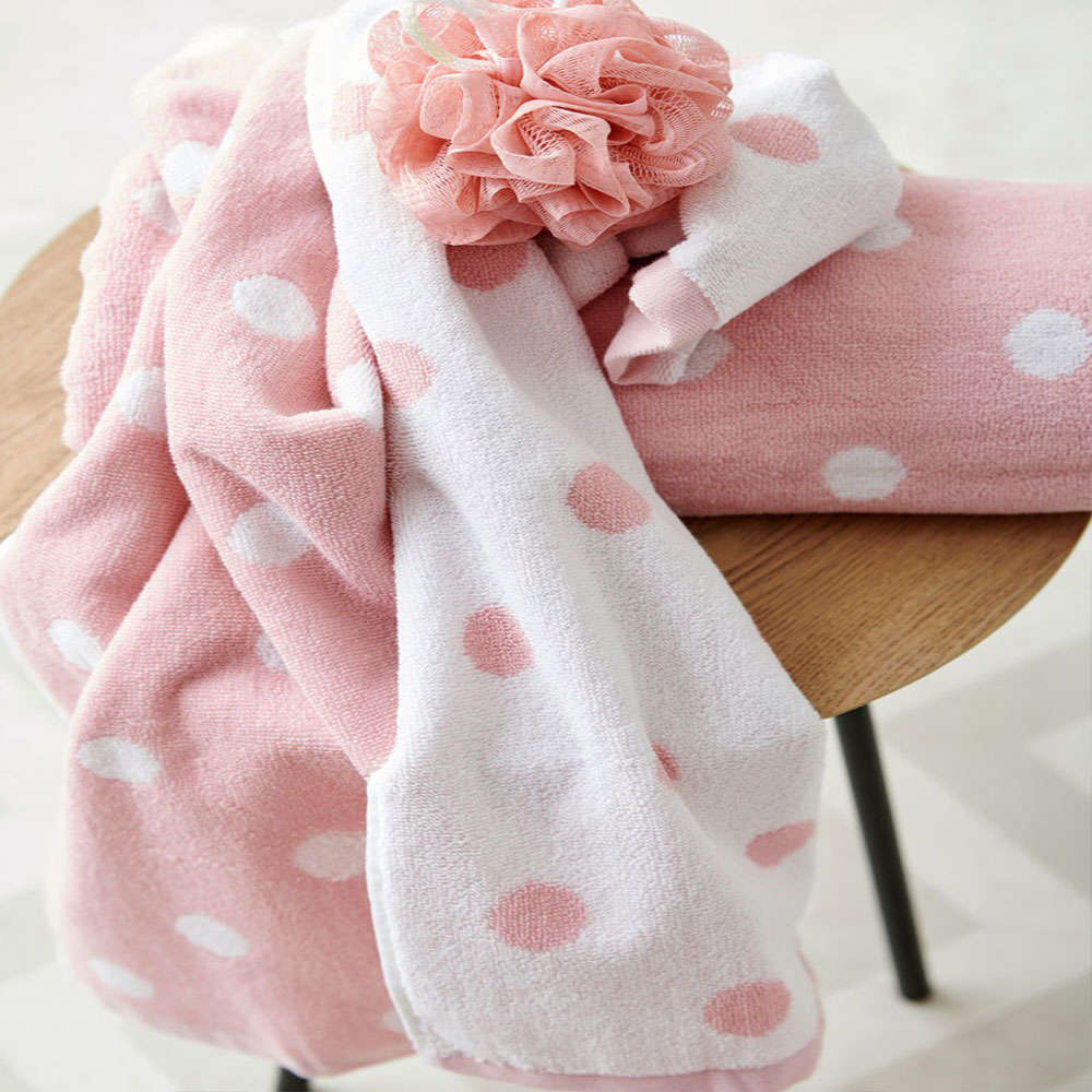 Πετσέτες Paradise Σετ 2τμχ Pink Palamaiki Σετ Πετσέτες