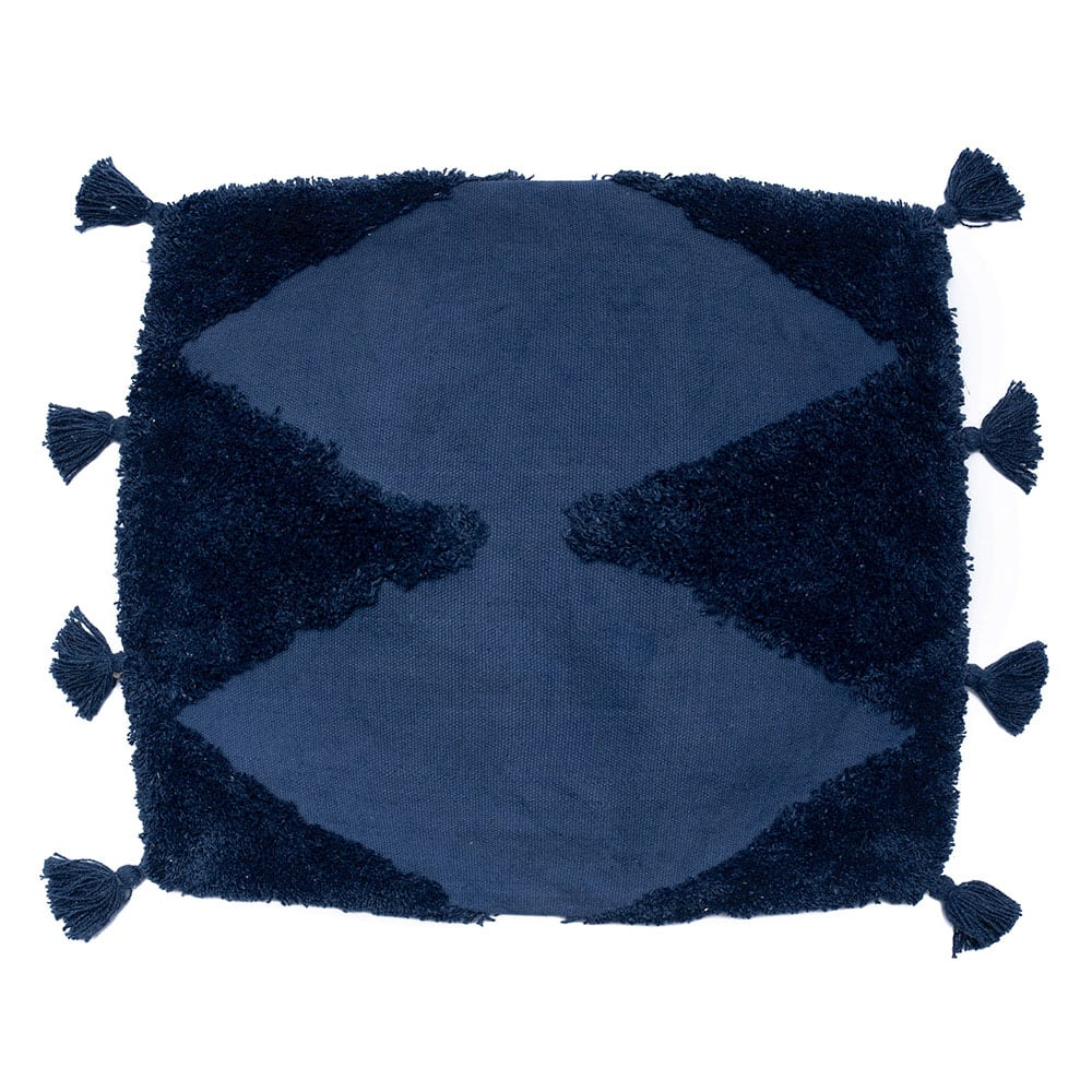 Μαξιλαροθήκη Διακοσμητική Alfie Blue Palamaiki 45X45 100% Βαμβάκι