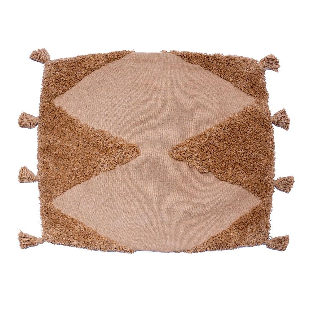 Μαξιλαροθήκη Διακοσμητική Alfie Camel Palamaiki 45X45 100% Βαμβάκι