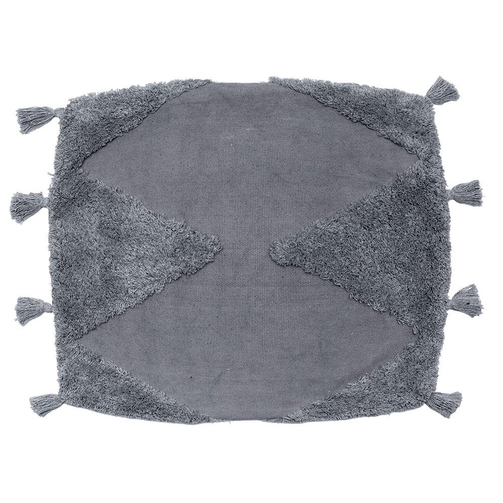 Μαξιλαροθήκη Διακοσμητική Alfie Grey Palamaiki 45X45 100% Βαμβάκι