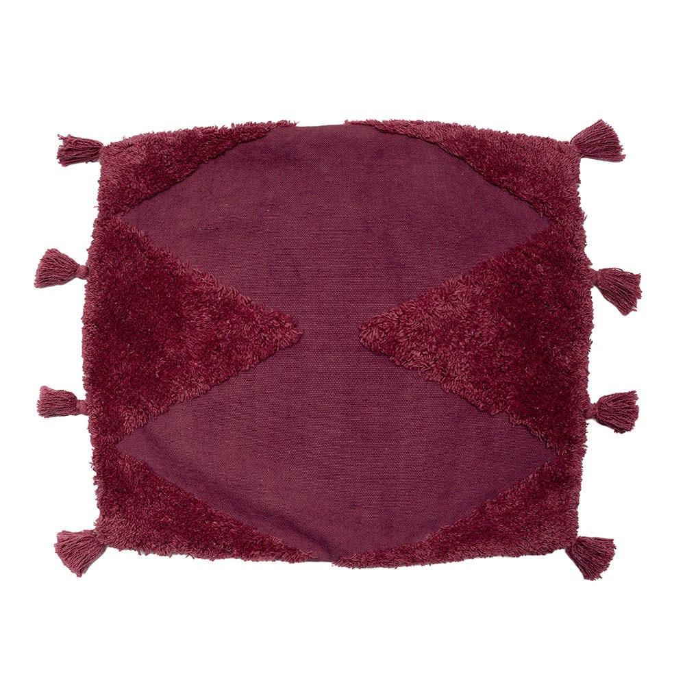 Μαξιλαροθήκη Διακοσμητική Alfie Mauve Palamaiki 45X45 100% Βαμβάκι
