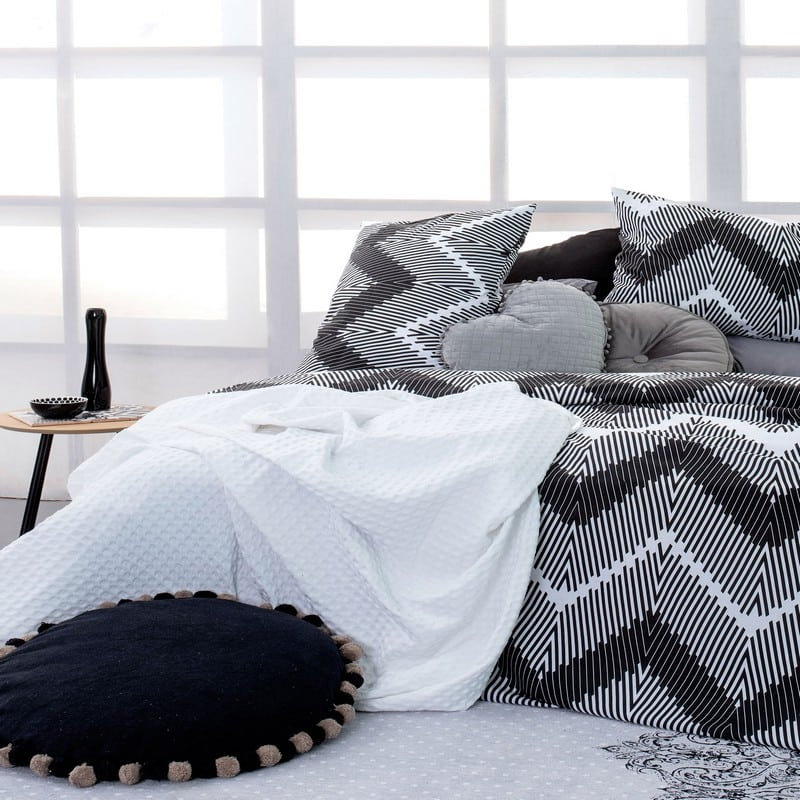 Κουβέρτα Πικέ Quinn White Palamaiki Ημίδιπλο
