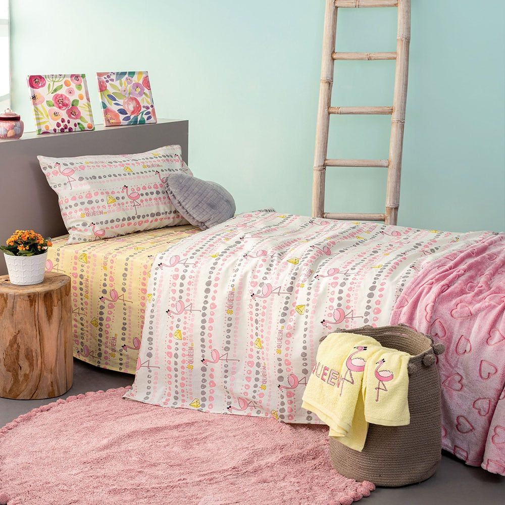 Μαξιλαροθήκες Παιδικές TC930 Σετ 2τμχ Pink Palamaiki 50X75