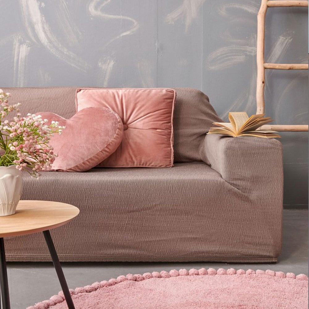 Μαξιλαροθήκη Διακοσμητική FT1516 Brown Palamaiki 45X45 100% Polyester