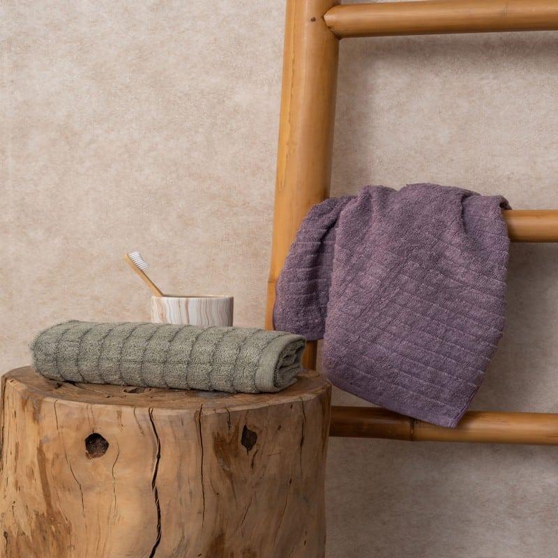 Πετσέτα Hazel Mauve Palamaiki Προσώπου