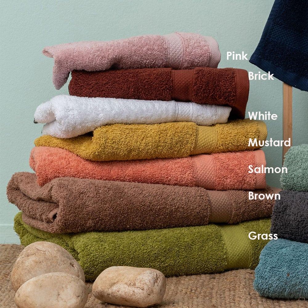 Πετσέτα Ombra Brick Palamaiki Προσώπου