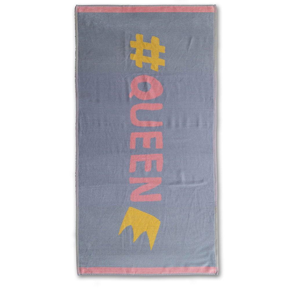 Πετσέτα Θαλάσσης Παιδική NV3 Grey-Pink Palamaiki Θαλάσσης