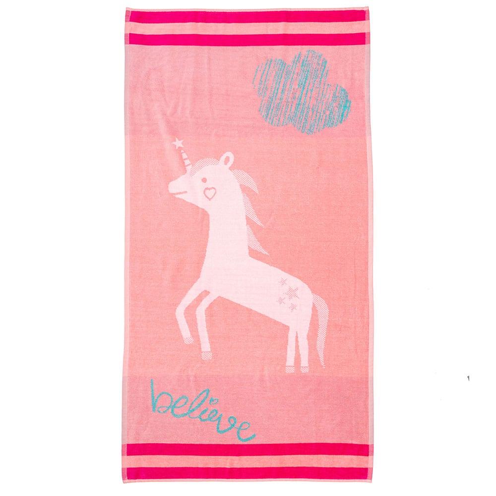 Πετσέτα Θαλάσσης Παιδική NV5 Pink Palamaiki Θαλάσσης