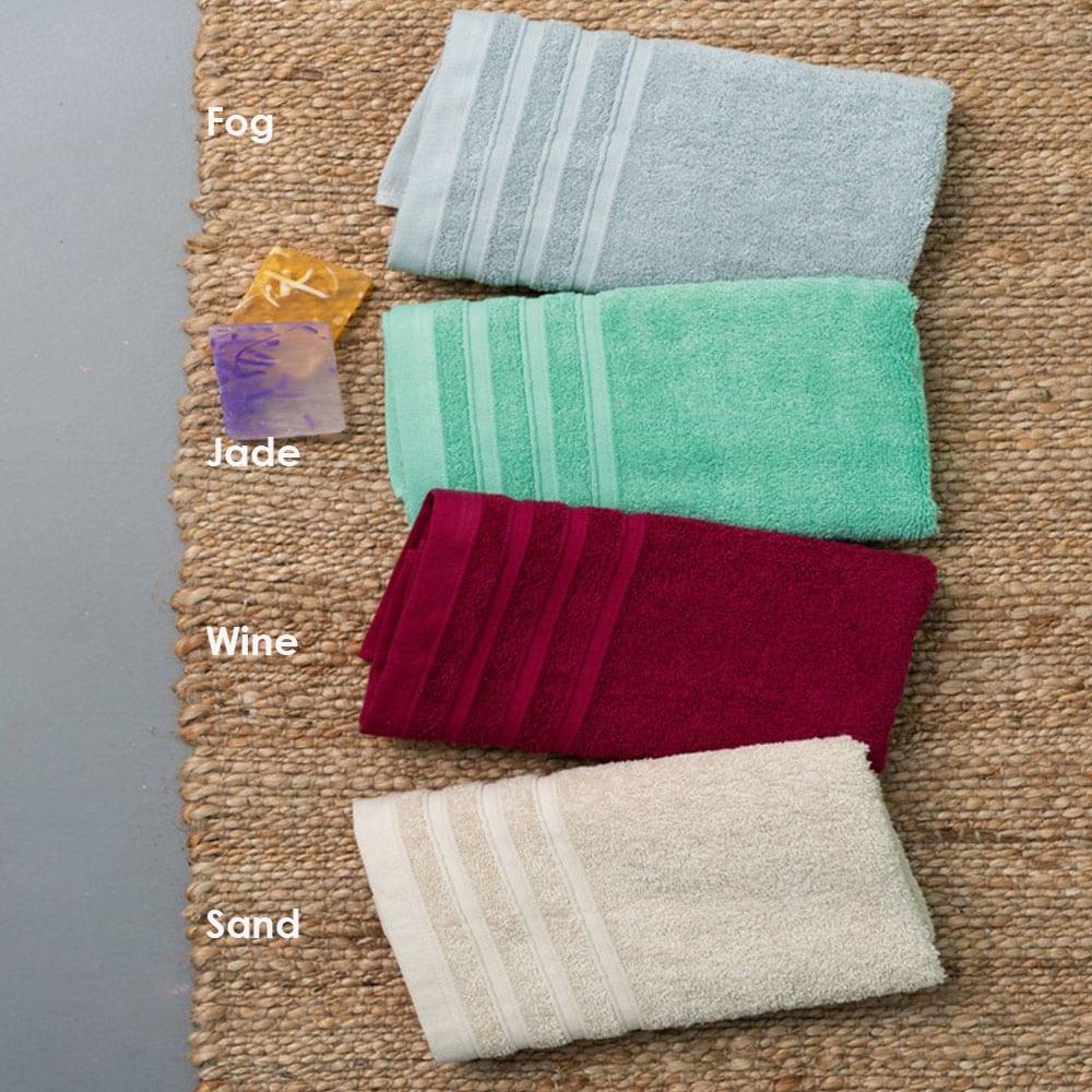 Πετσέτες Beren Σετ 3τμχ Jade Palamaiki Σετ Πετσέτες