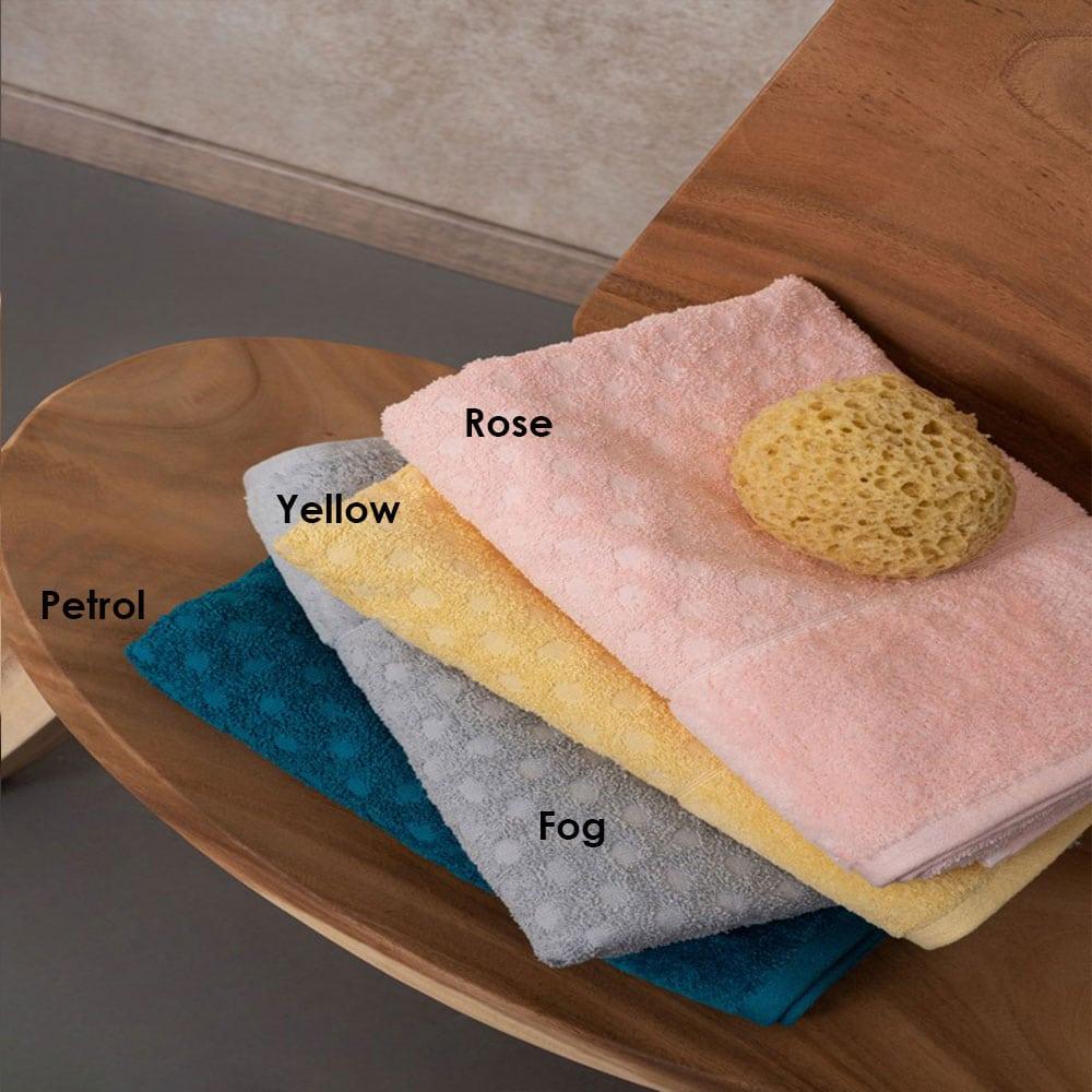Πετσέτες Erin Σετ 3τμχ Rose Palamaiki Σετ Πετσέτες