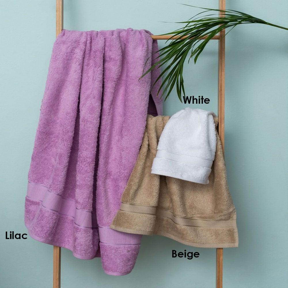 Πετσέτες Jolie Σετ 3τμχ Lilac Palamaiki Σετ Πετσέτες