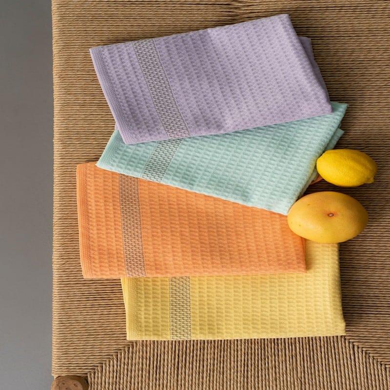 Πετσέτες Κουζίνας KTE400 Σετ 4τμχ Multi Palamaiki