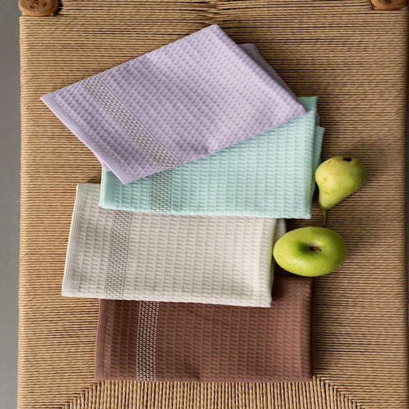 Πετσέτες Κουζίνας KTE410 Σετ 4τμχ Multi Palamaiki