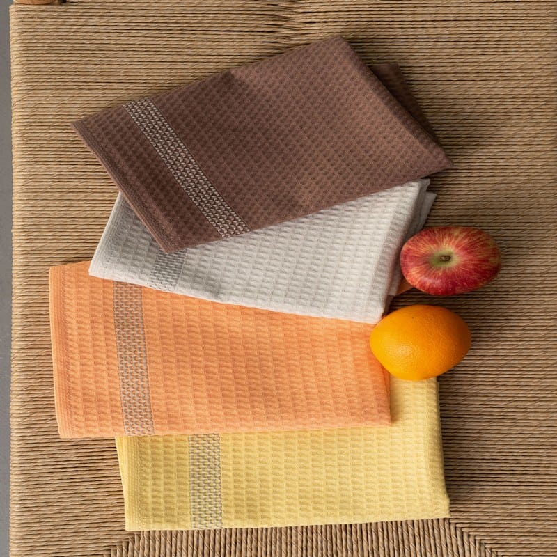 Πετσέτες Κουζίνας KTE420 Σετ 4τμχ Multi Palamaiki