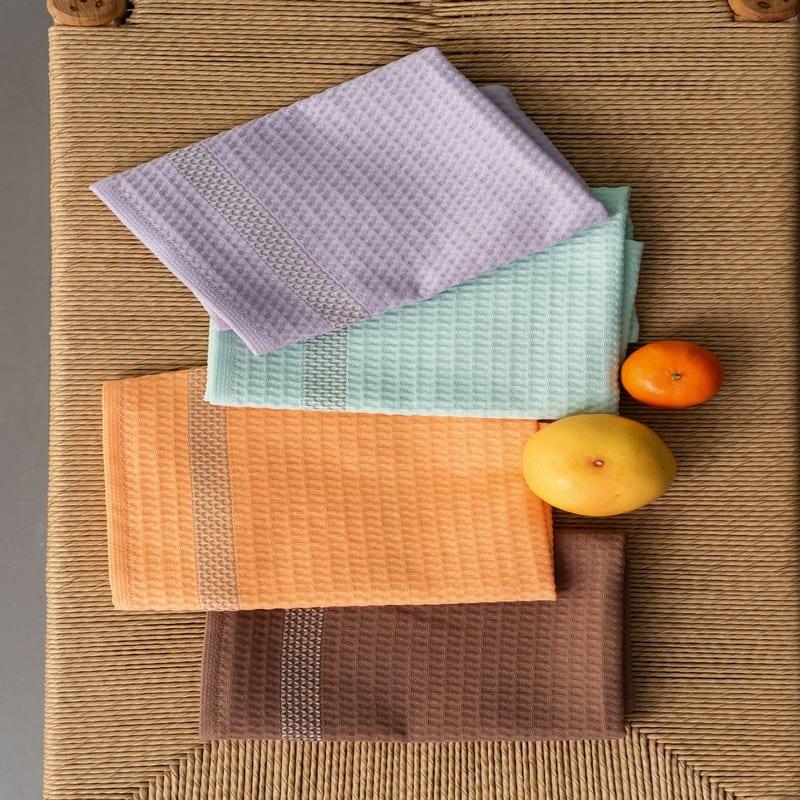 Πετσέτες Κουζίνας KTE430 Σετ 4τμχ Multi Palamaiki
